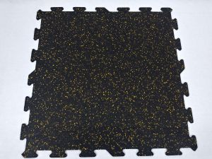 10% Going for Gold Rubber Interlocking Tiles 23″ x 23″ x 6mm