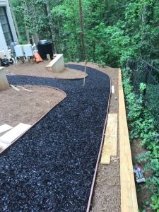 Pour in Place Rubber Mulch
